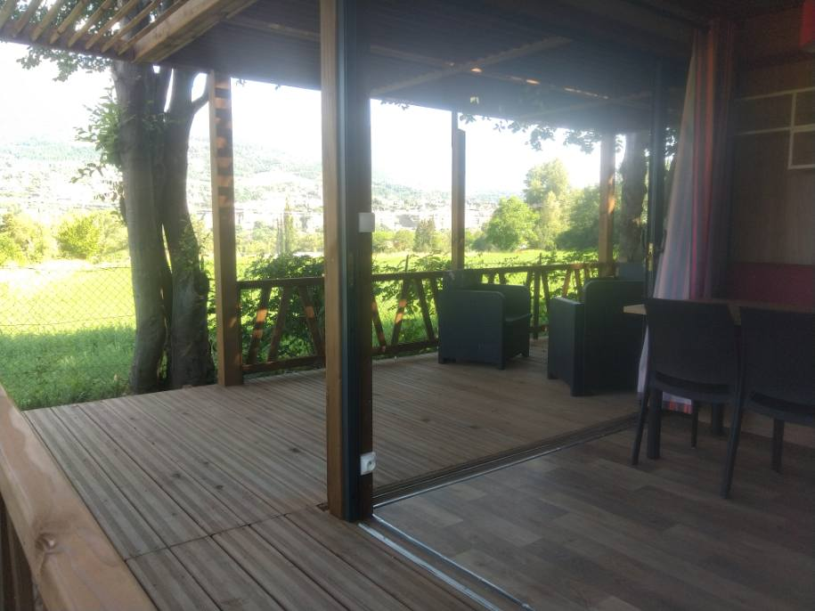 camping les grillons LODGE panoramique